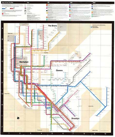 subway map graphic design legend massimo vignelli s nyc subway design