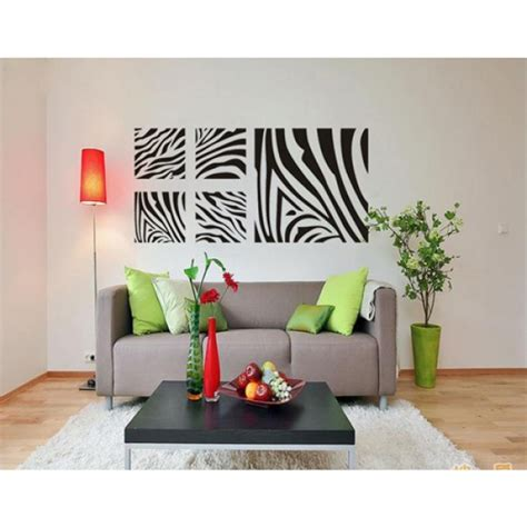 Home Decorating Ideas Zebra Print Zebra Print Wall Decor For Modern Homes
