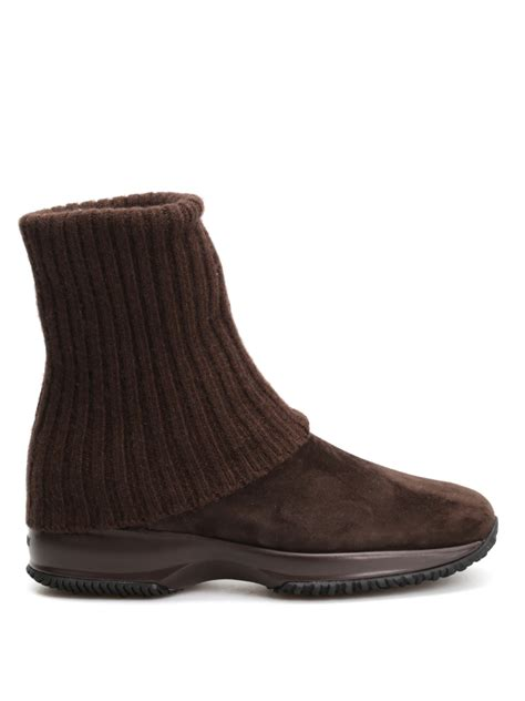 knitted cuff ankle boots by ankle boots ikrix
