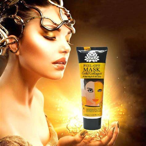 Masker Muka 24 K 1x 120ml 24k golden mask anti wrinkle anti aging mask care whitening masks skin