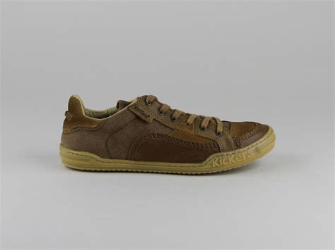 Chaussures Kickers Homme by Chaussures Kickers Jiuji Lacets Naturel Toile Coton