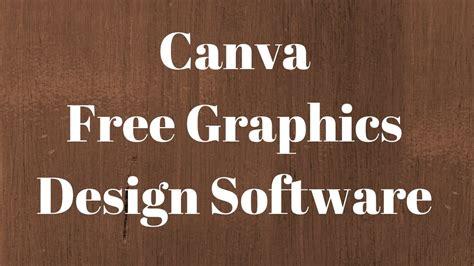 canva tutorial  graphics design software