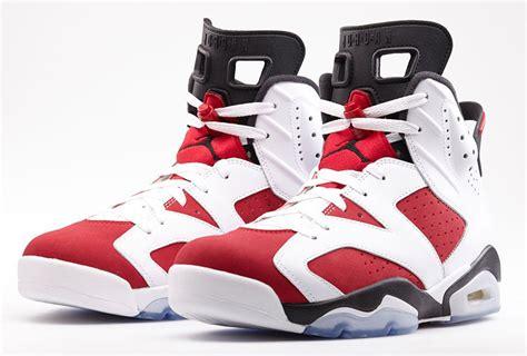 sneaker news air 6 quot carmine quot nikestore release info