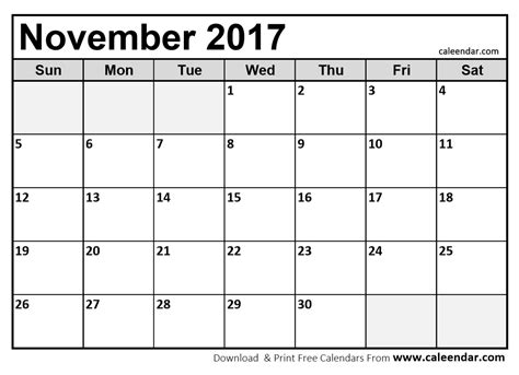 printable calendar for october november and december 2017 november 2017 calendar printable printable calendar 2018
