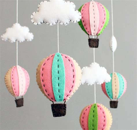 Crib Mobile Kit by Diy Baby Mobile Kit Make Your Own Air Balloon By