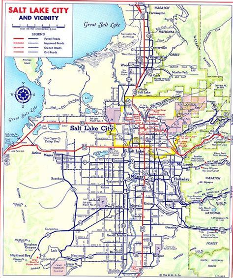 map salt lake city surrounding area salt lake utah map afputra