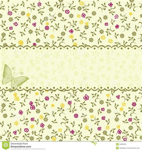 pattern flower vintage vector vintage floral seamless pattern in vector stock vector