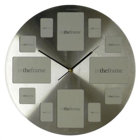 Living Room Wall Clocks Uk Handforth Photo Frame Wall Clock From Dunelm Mill