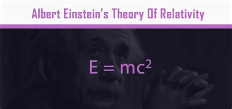albert einstein biography theory of relativity ten equations that changed the world