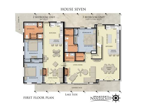 Nantucket House Plans Unit Floor Plans Branson S Nantucket