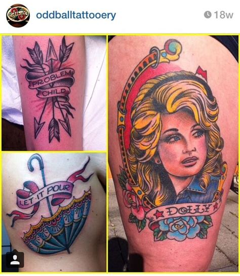 dolly parton tattoo 35 amazing dolly parton tattoos nsf part 2