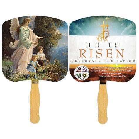 church fans wholesale printed religious fan usimprints