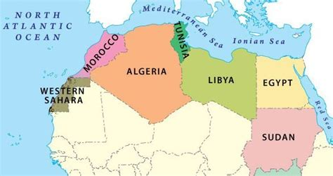 northern africa map export reflections of a pan afrikanist