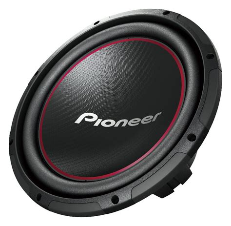 Speaker Dynamax 12in pioneer ts w304r 12 inch component subwoofer with 1300 watts max power car electronics