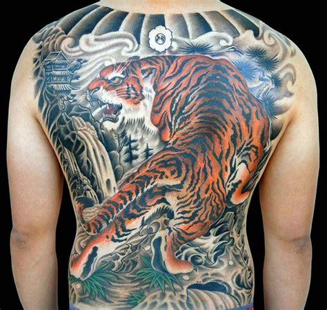 japanese tiger tattoo meaning typical japanese tattoos symbolism inked magazine