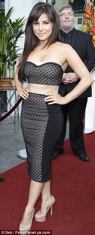 matching pencil skirt and crop top set