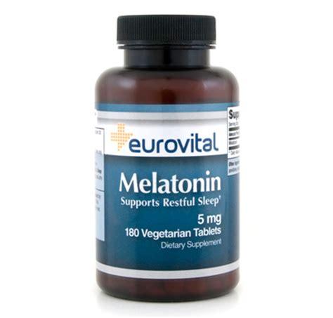 melatonin schlaf melatonin 5mg 180 tabletten eurovital biovea