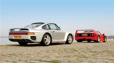 80s porsche 959 porsche s 959 defined cutting edge in the hi tech 80s