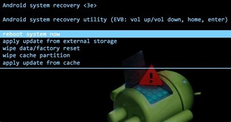 recovery android how to boot in android recovery mode ubergizmo