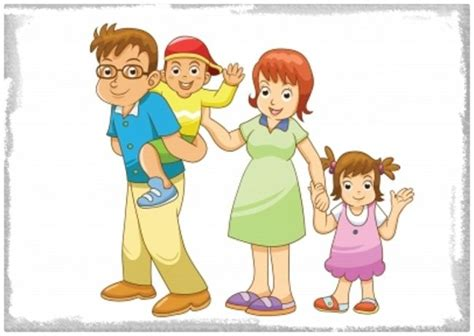 imagenes niños felices animadas imagenes animadas de familias felices imagenes de familia