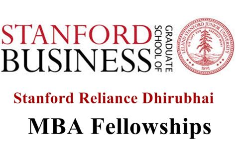 Mba Fellowship Stanford by Mba From A Top B School Like Stanford In Your Mind Here