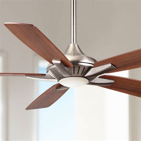 minka aire dyno fan 52 quot minka aire dyno brushed nickel ceiling fan 4n698