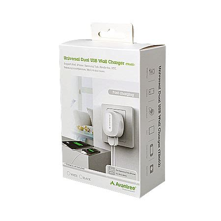 Avantree Dual Usb Wall Charger 2 1a With Micro Usb 2m 1m 30 avantree 2 1a dual usb mains charger mobilefun india
