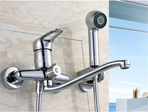 best place to buy kitchen faucets wall mounted kitchen faucet hpb wall mounted brass