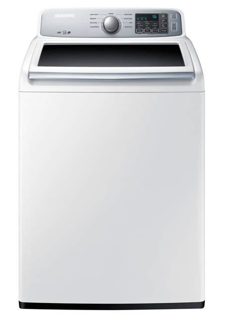 samsung 5 2 cu ft top load washer in white the home