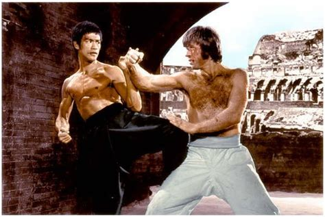 china film fight bruce lee vs chuck norris the real truth without writing
