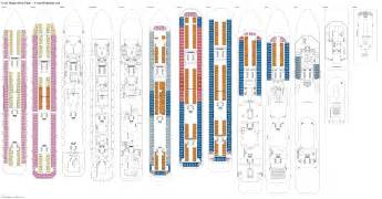 deck plan costa magica deck plans diagrams pictures