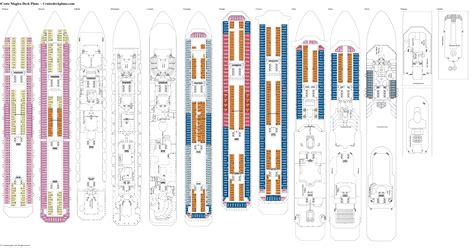 costa magica cabine costa magica deck plans cabin diagrams pictures