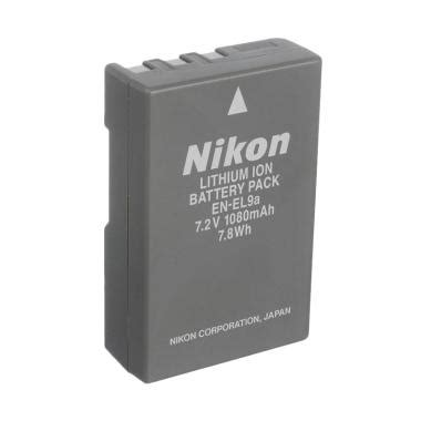 jual nikon battery en el9a for d5000 d3000 d40 d60 original harga kualitas