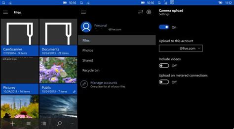 themes for windows 10 mobile onedrive for windows 10 mobile gets a dark theme new ui