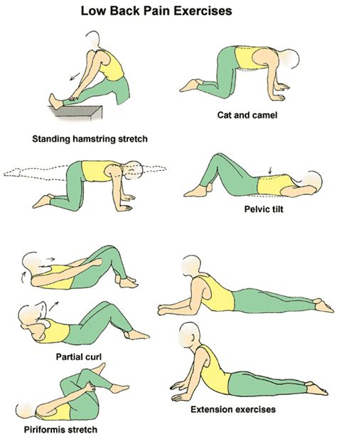Safe Exercises For Lower Back Lower Back Remedies And Exercises