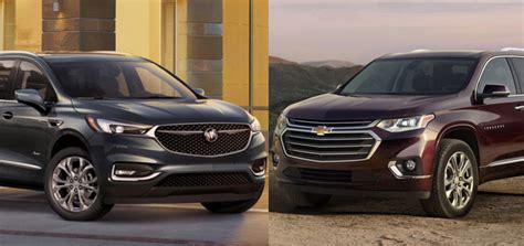 new chevy traverse buick enclave use engines gm