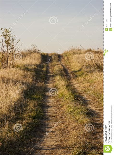 dirt road country road on the road again trees grey snow winter of nature country dirt road going the hill stock photo image 61512240