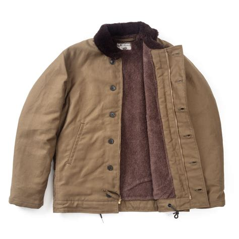 Jacket Anak N 1 the real mccoy s n 1 deck jacket khaki