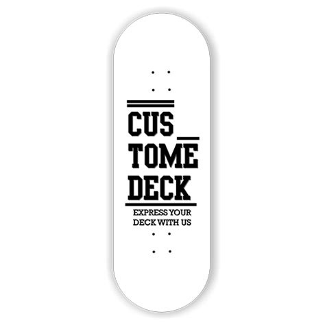Planktoon Fingerboard Top Dual Set Deck Collection deck custome engraved planktoon fingerboard