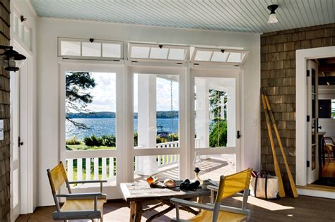 Transom Windows Images Decorating Three Season Porch Style Porch Portland Maine By Whitten Architects