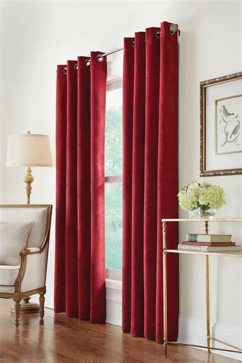 home decorators collection canada home decorators collection grommet burgundy 54 x 108
