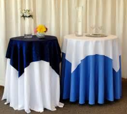 details cocktail table linen ideas