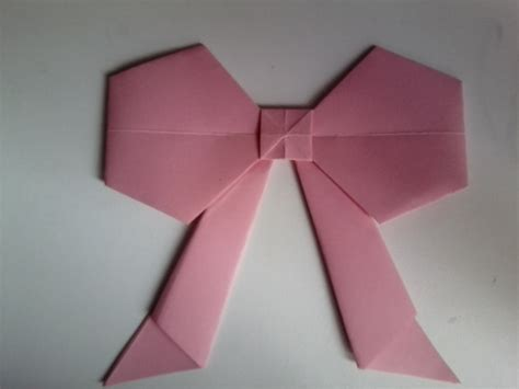 Origami Cut Outs - origami bows 183 an origami shape 183 papercraft and