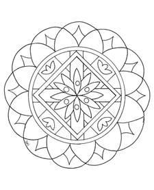 Mandalas Faciles Pour Enfants 100 Mandalas Zen Amp Anti