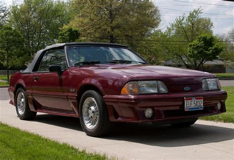 89 ford mustang convertible 51k mile 1989 ford mustang gt 5 0 bring a trailer