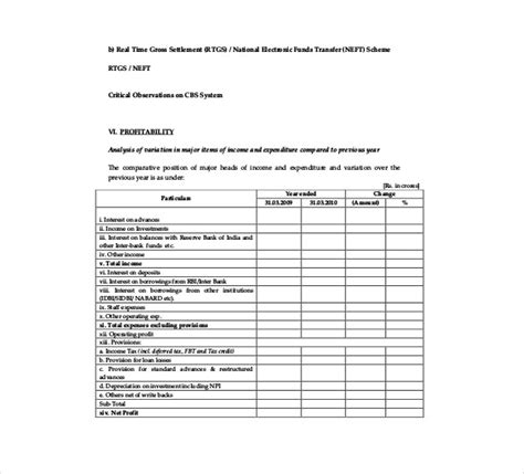 35 Excellent Audit Report Form Template Exles Thogati It Security Audit Report Template