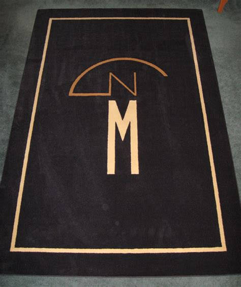 Rug Logo by Custom Logo Rugs