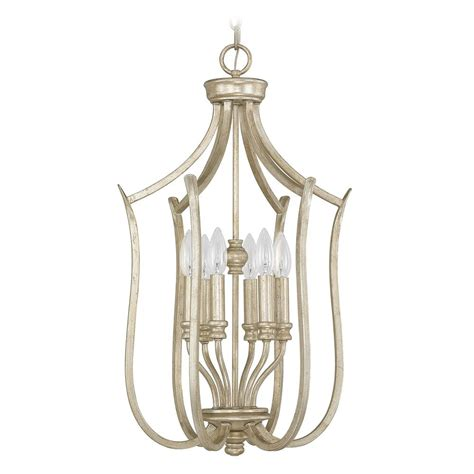 Gold Pendant Light Capital Lighting Bailey Winter Gold Pendant Light 4728wg Destination Lighting
