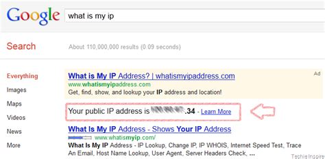 Gmail Ip Address Lookup Check Ip Address In Search Result
