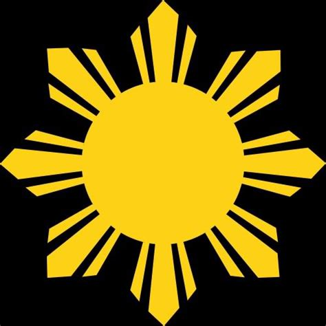 philippine sun vector clipart best